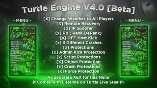 Showcase for XBLTurtle + Turtle Engine V4.0 [Beta] (GTA5 Modz)