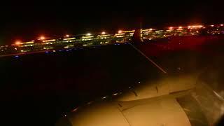 Night Landing Garuda Indonesia PK-GMR in S.A.M.Sulaiman Sepinggan Airport Balikpapan