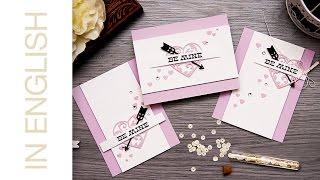 Textured paper Valentine