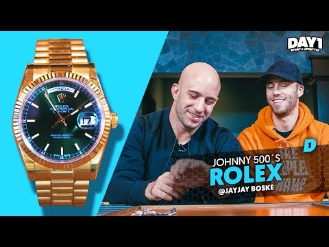 Gouden Rolex Day-Date van Johnny 500 || #DAY1 #WatchThis #3