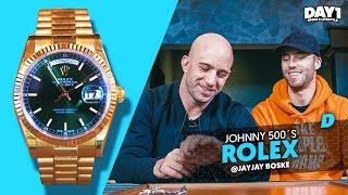 Gouden Rolex Day-Date van Johnny 500 || #DAY1 #WatchThis #3