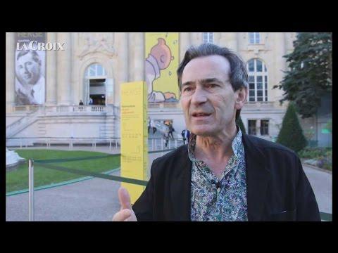 Expo Hergé : le coup de griffe de Benoît Peeters