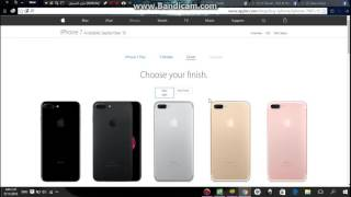 Gambar cover How to order IPhone 7 from the Apple site