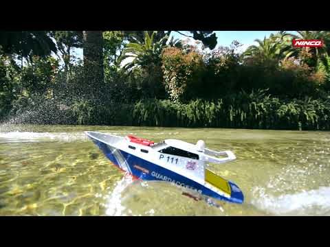 Ninco RC Yate Pitiusa Boot commercial