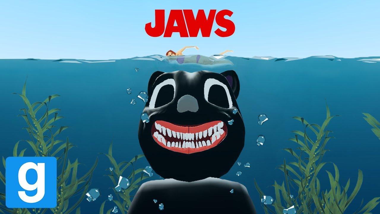 Download JAWS... BUT WITH CARTOON CAT & FRIENDS! (Garry's Mod Sandbox)   JustJoeKing