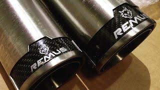 btr   remus sports exhaust hyundai genesis coupe 3 8 sound clip video