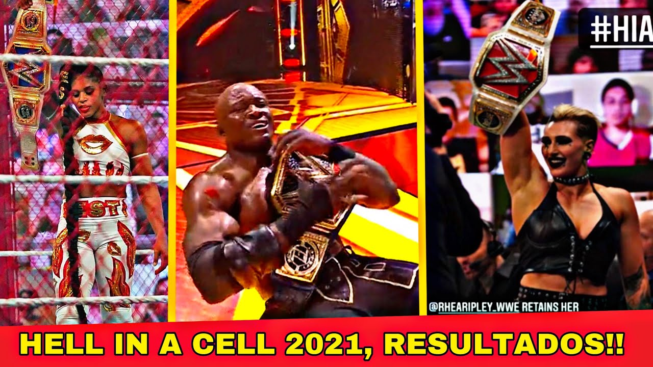 Hell In A Cell 2021, Resultados- Wwe Hell in A Cell 2021 Resultados en Español Resumen