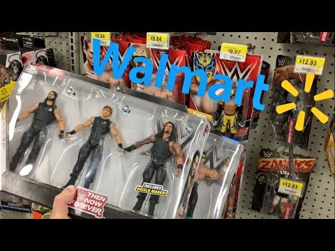 Stealing New Wwe 3pks From Walmart Wwe Elite 2pks At Target Insane