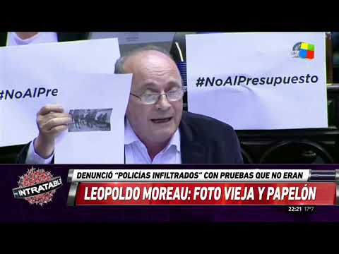 Papelón: la fake news de Moreau