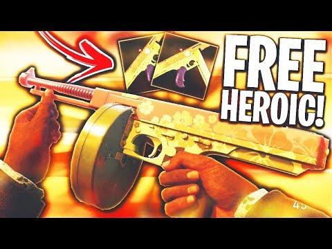 The NEW HEROIC WAYFINDER II...😍 (FREE VARIANT) - COD WW2 NEW ORDER!