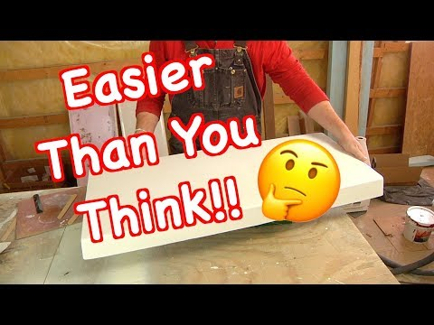 How To Make A Fiberglass Mold For Making New Parts On Your Boat!!