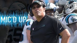 Ron Rivera Mic'd Up Reacting to Gano's Game-Winning FG vs. Giants | NFL Films