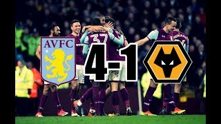 ASTON VILLA 4-1 WOLVES || 10/3/18 || FAULTLESS