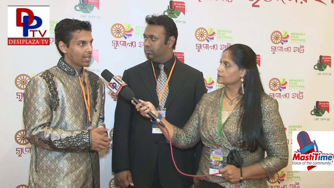 Tariq, Marketing Director of Bengali Film Festival speaks to DesiplazaTV || Dallas