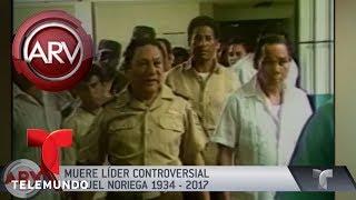 Murió el ex dictador Manuel Noriega | Al Rojo Vivo | Telemundo