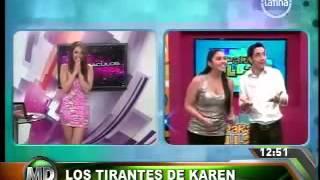 Repeat youtube video KAREN SCHWARTZ MUESTRA LOS SENOS