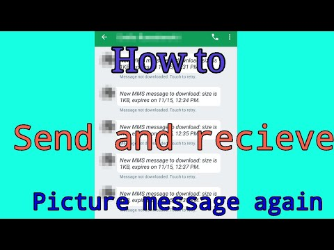 How To Send And Receive Picture Messages (fix) On Any Android Phone