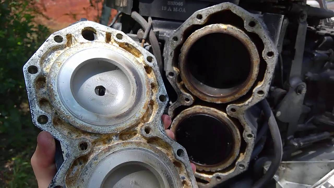 hight resolution of replacing an outboard head gasket