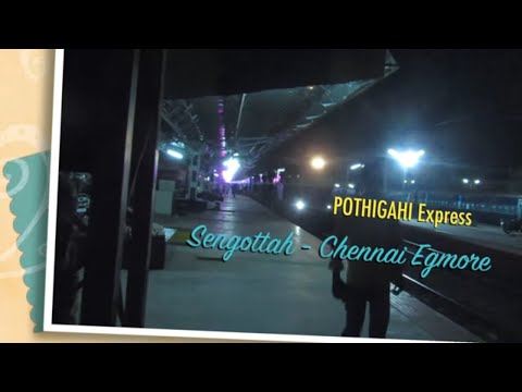 Madurai JN Late Night Train Spotting : Arrivals Crew Change Departures OffLinks