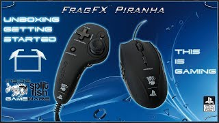 UNBOXING GETTING STARTED [DEUTSCH] - SUPPORT VIDEO FRAGFX PIRANHA PS4 - SPLITFISH GAMEWARE