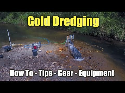 How to Dredge for Gold - Converting a Highbanker to a Dredge