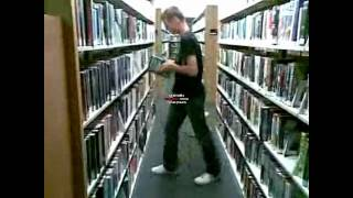 Shuffle in a library XD