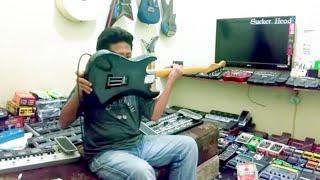 Ahmad Albar - Zakia (  Cover Bagas Gitaris  Dangdut Kesurupan ) Kandang FX Depok
