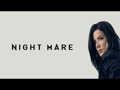 Halsey-Nightmare (lyrical video) | V3music