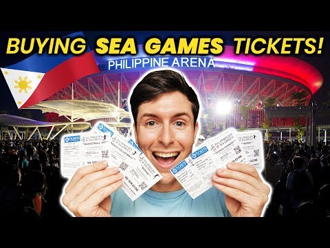 Foreigner buys SEA GAMES 2019 OPENING CEREMONY tickets!