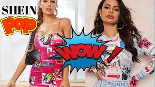 CRAZY fun pop art fashion! Honest Shein review and try on.