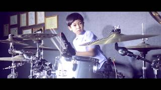 Video Humood - Kun Anta ( Drum cover version ) by Lexa apregio drummer cilik download MP3, 3GP, MP4, WEBM, AVI, FLV Oktober 2017