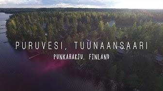 Puruvesi Tuunaansaari – Punkaharju, Finland - DJI Phantom 3 Professional