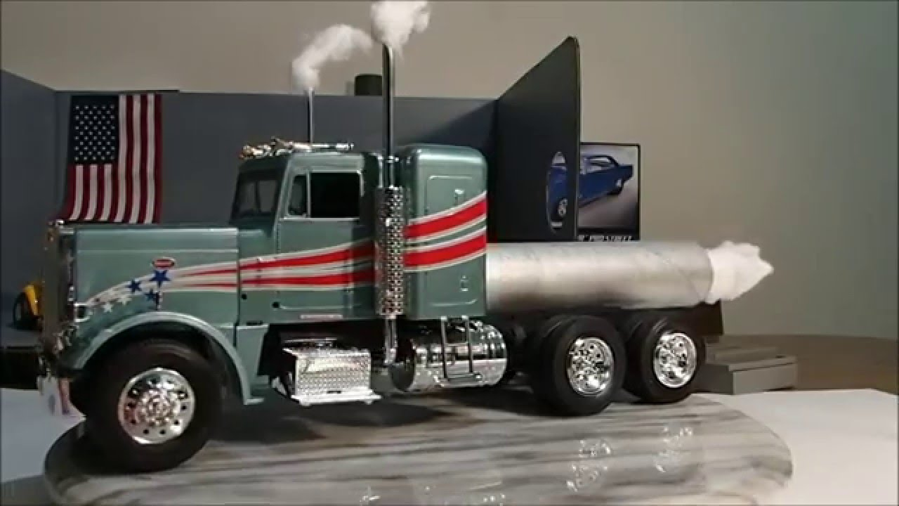 how to build a rc semi truck