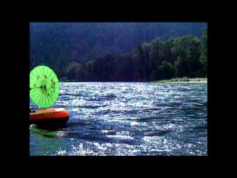 Slocan River float during super hot weather