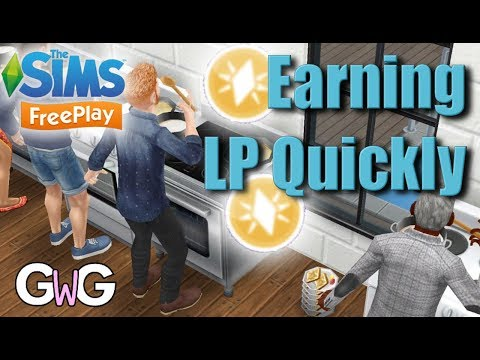 The Sims Freeplay- Earning LP Quickly