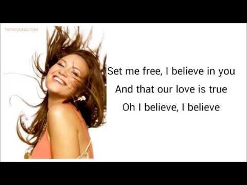 I Believe Tata Young Lyrics.