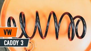 Hvordan skifte Spiralfjærer på VW CADDY III Box (2KA, 2KH, 2CA, 2CH) - videoguide