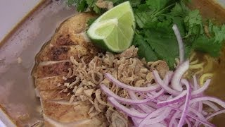 Spicy Thai Chicken Khao Soi