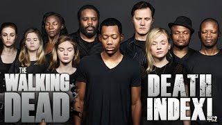 The Walking Dead All Named Character Deaths up to Season 8!