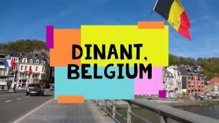 Dinant city, Belgium highlights