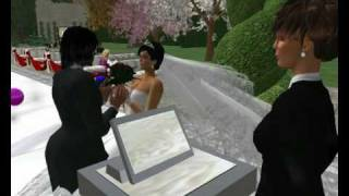 Marisa Laval and Spinmaster Voom, a second life wedding.