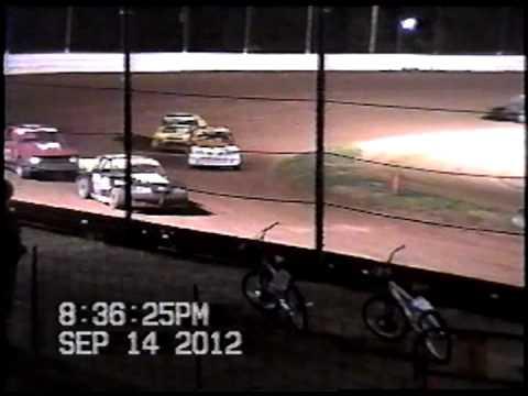 Doe Run Raceway Mini stock Heat-September 14,2012