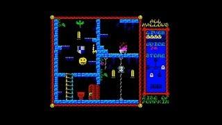 All Hallows - Rise of the Pumpkin (2018) Walkthrough, ZX Spectrum