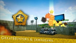 Rankup: Horsies [GreatHunters & jawadjawa]   Tanki Online