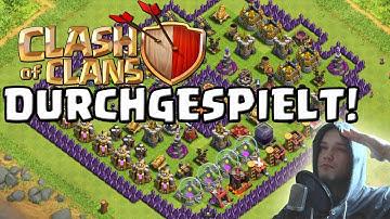 Clash of Clans durchgespielt! 🔥