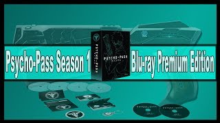 Anime Unboxing | Psycho-Pass Season One - Blu-ray [Premium Edition] 2014