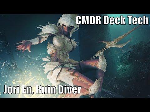 Angus' Jori En, Ruin Diver CMDR Deck [EDH / Commander / Magic the Gathering]