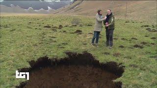 Terremoto Centro Italia, lungo la faglia si scoprono nuove voragini