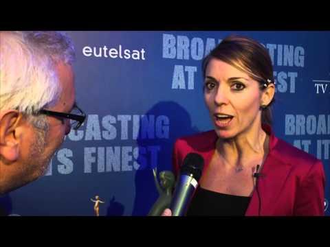 #EutelsatTVAwards winners | SONIA ROVAI, SKY ATLANTIC HD