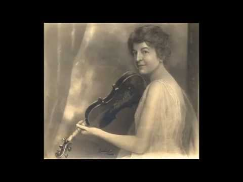 Maud Powell - Sarasate: Zigeunerweisen